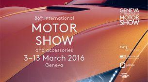 86. međunarodni salon automobila u Ženevi, 2016.