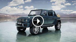 Sada i službeno: Mercedes-Maybach G 650 Landaulet