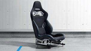 Alpine A120 pokazuje jednodijelna sportska sjedala
