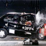 Euro NCAP: prva serija Crash testova - Ford Fiesta (1997.)