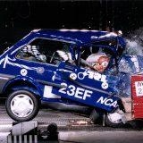 Euro NCAP: prva serija Crash testova - Rover 100 (1997.)