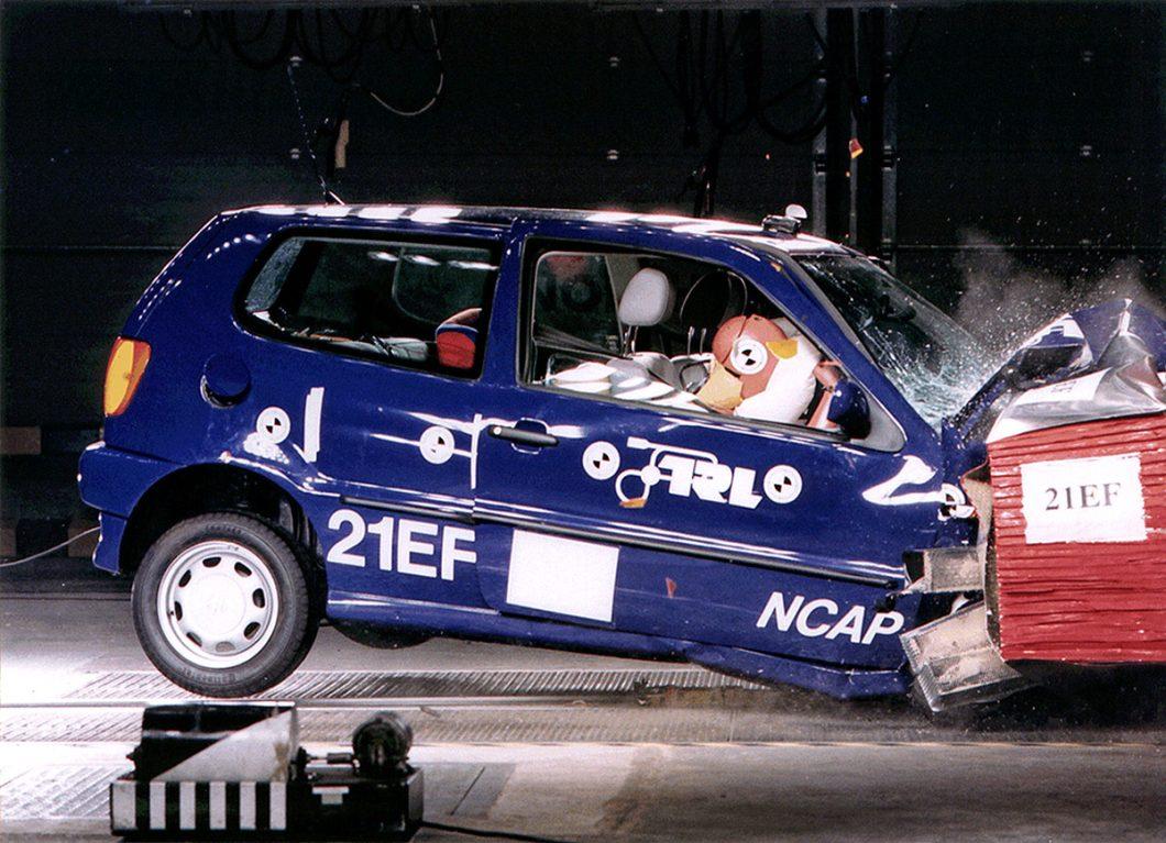 Euro NCAP: prva serija Crash testova - Volkswagen Polo (1997.)