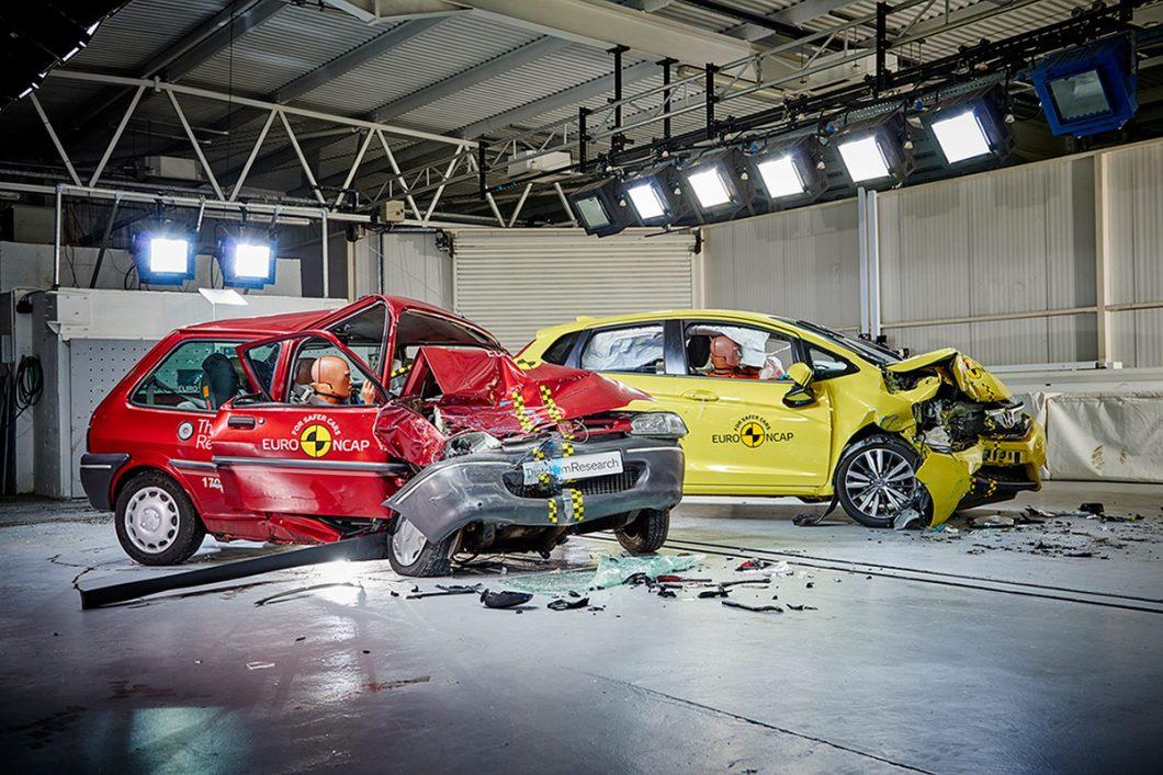 Euro NCAP: Crash test povodom 20. obljetnice organizacije (Rover 100 i Honda Jazz)