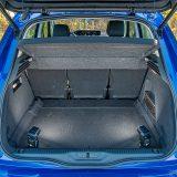 Prtljažnik standardno zaprima velikih 537 dm3, dok sa stražnjim sjedalima pomaknutim unaprijed taj obujam raste na čak čak 630 dm3