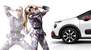 Modna kampanja Jelene Holec za novi Citroën C3
