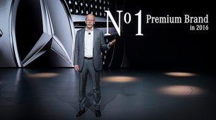 Mercedes-Benz je u 2016. osvojio vrh premium segmenta!