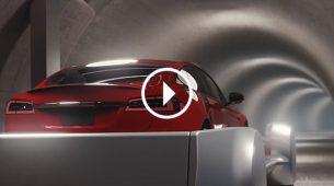 Tesla ide pod zemlju