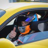 Porscheov test-vozač Lars Kern