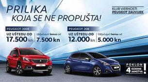 Peugeotovi modeli tijekom lipnja uz uštede do 17.500 kn