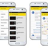 Aplikacija myOpelApp dostupna je za platforme Android i iOS,a  omogućava potpun nadzor nad vozilom