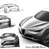 Razvojna skica (Centro Style Alfa Romeo)