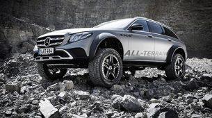 Mercedes-Benz E klasa All-Terrain 4×4² bi mogla u serijsku proizvodnju