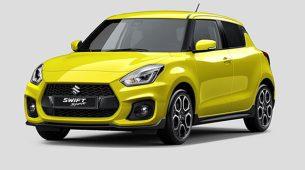 Suzuki objavio nove fotografije modela Swift Sport