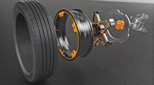 Continental razvio novu konstrukciju kotača i kočničkog sustava