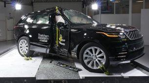 Range Rover Velar s peticom položio Euro NCAP-ov test
