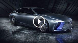 Lexus LS+ najavio budućnost luksuzne toyotine marke