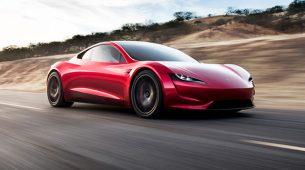 Tesla Roadster sa SpaceX potisnicima!?