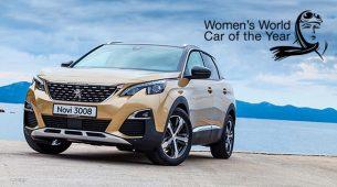 Peugeot 3008 je osvojio nagradu Women's World Car of the Year