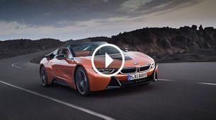 BMW predstavio i8 Roadster i osvježeni i8 Coupe