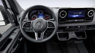 Mercedes-Benz predstavio interijer novog Sprintera