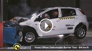 Euro NCAP – Novi većinom odlični, stari uglavnom dobri, a Punto…