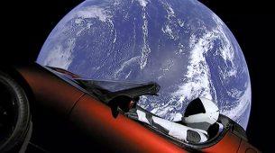 Koliko će Muskov Tesla Roadster izdržati u svemiru?