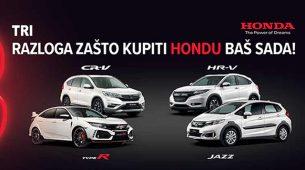 Nova je Honda sada povoljnija!