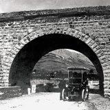 Prvi automobil u Splitu, fotografija iz 1902. godine