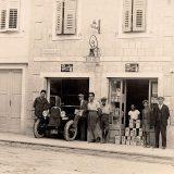 Mehaničarska radionica na Manuškoj poljani u Splitu, 1926. godine