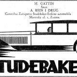 Erskine je bila marka tvrtke Studebaker iz Indiane, SAD. Automobili marke Erskine predstavljali su kompaktnije modele namijenjene europskom tržištu. Oglas je iz 1928. godine