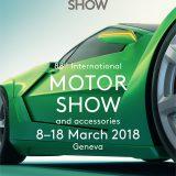 Plakat 88. međunarodnog salona automobila u Ženevi, 2018.