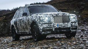 Rolls-Royce će završiti razvoj modela Cullinan pred kamerama National Geographica