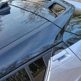 Karoserija i ove Toyote prepuna je raznoraznih detalja. Katkada nam izgleda da ih možda ima i previše, poput npr. ovog malog prozorčića na stražnjim vratima, neobične ručice, dva plastična dijela (ispod i iznad nje), komplicirano dizajniranog spojlera...