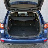 Za potrebe prijevoza većih predmeta ili mnogo njih, Talisman Grandtour će ponuditi do 1681 dm3 prtljažnog prostora, uz preklopljene naslone stražnjih sjedala