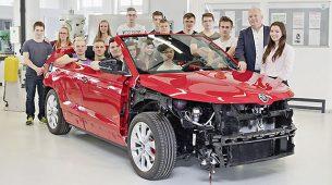 Škodini pripravnici rade na cabrio izvedbi modela Karoq