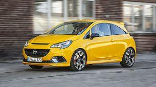 Opel dodatno predstavio Corsu GSi