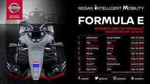 Nissan će nastupiti u petoj sezoni Formule E