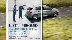 Peugeotova ljetna servisna akcija