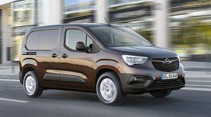 Novi Opel Combo je prostrani transporter s naprednim tehnologijama