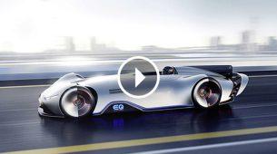 Mercedes-Benz predstavio EQ Silver Arrow