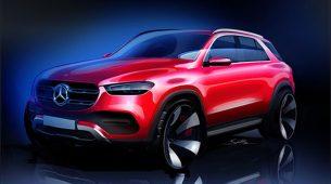 Mercedes-Benz objavio skicu nove GLE klase