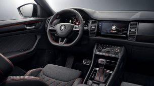Škoda Kodiaq RS – sportska unutra kao i izvana