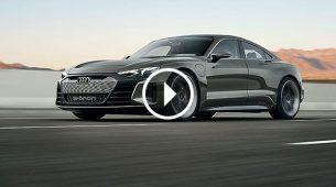 Auti E-Tron GT – električna super limuzina stiže 2020.