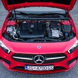 Pod prednjim se poklopcem testirane A klase smjestio OM 608 - nova izvedba poznatog 1,5-litrenog dizelaša nastalog u suradnji s alijansom Renault-Nissan
