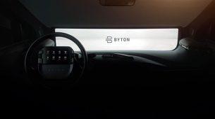 Byton na CES-u predstavlja produkcijski upravljač s tabletom