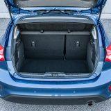 Prtljažnik novog Forda Focusa zaprima između 375 i 1354 dm3, u izvedbi s kompletom za popravak pneumatika. Koliko je manji obujam prtljažnika koji ima rezervni kotač, poput ovdje testiranog, Ford nije objavio