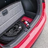 Ispod podnice prtljažnika, testirani je automobil imao rezervni kotač za privremenu uporabu