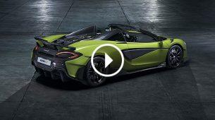 McLaren 600LT Spider – s vjetrom u kosi na 315 km/h