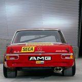 "AMG Mercedes 300 SEL 6.8 ""Rote Sau"". Obujam motora povećan je sa 6,3 na 6,8 litara (1971.)"