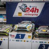 Na utrci 24 sata Nürburgringa, prva četiri mjesta zauzele su momčadi koje su se natjecale s modelom Mercedes-AMG GT3